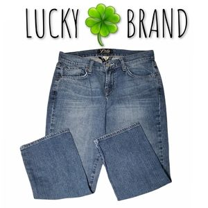🆕️ Lucky Brand Crop Mid-Rise Jeans